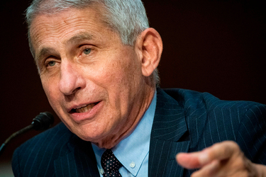 "Fauci warns: ""We are still knee-deep in the first wave of this"""