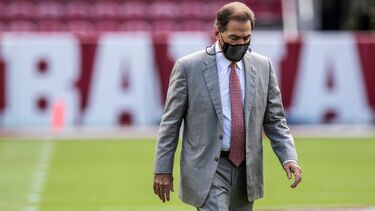Alabama's Nick Saban cleared to travel with team to LSU on Friday