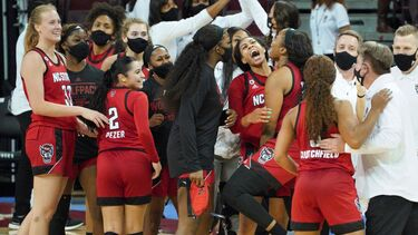 South Carolina's win streak halted at 29 as NC State women's basketball secures third-ever victory over a No. 1