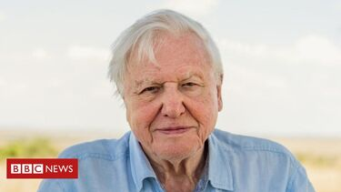 Attenborough warns leaders over extinction crisis
