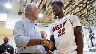 Pat Riley and Jimmy Butler have turned the Heat back on in Miami