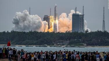 China rocket debris likely plunged into the Indian Ocean near the Maldives, says China's space agency