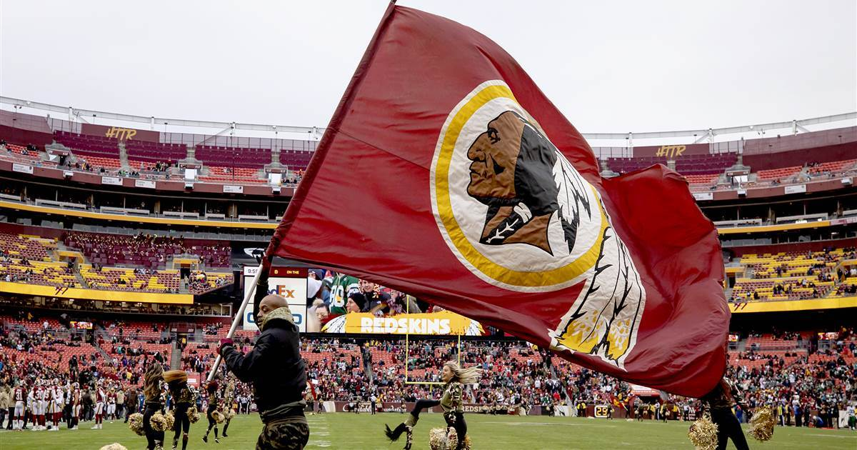 Washington Redskins to do 'thorough review' of team name, opening door to change