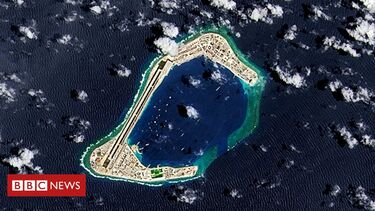 Beijing's South China Sea project illegal, says US