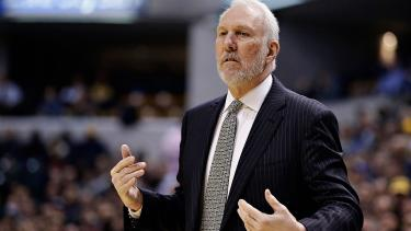 Gregg Popovich sees 'stark' difference between Adam Silver, Donald Trump as leaders