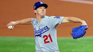 Los Angeles Dodgers' Walker Buehler first with 10 K's in 6 innings of World Series