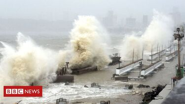 Cyclone Tauktae: Ninety missing at sea in the wake of storm