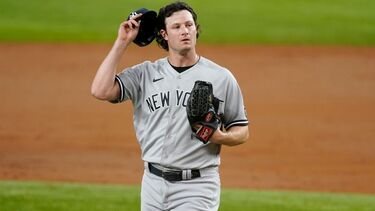 Gerrit Cole of New York Yankees sets strikeouts record before issuing first walk since April 12