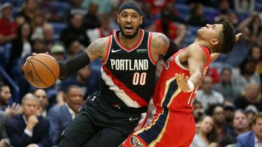 Stats aside, Carmelo Anthony, Trail Blazers encouraged by season debut