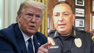 Police chief to Trump: Please, keep your mouth shut if you can't be constructive - CNN Video