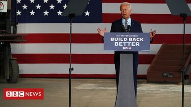 Biden sets out 'Buy American' economic plan