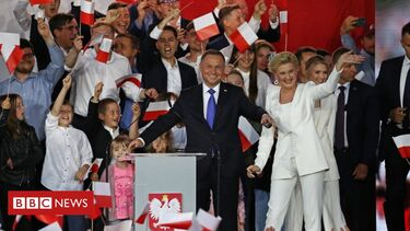 Poland's conservative President Duda re-elected