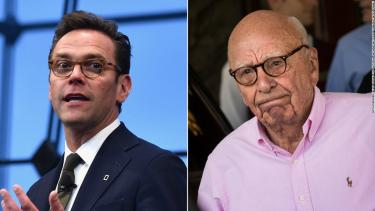 Rupert Murdoch's son lashes out against Fox and his father's other news outlets for climate change coverage
