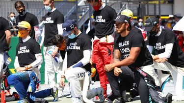 Verstappen, Leclerc, Raikkonen among six drivers to decline taking a knee at Austrian GP