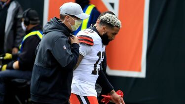 Cleveland Browns WR Odell Beckham Jr. out for game with knee injury