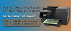 How to Setup HP OfficeJet Pro 8600 Wireless Printer?