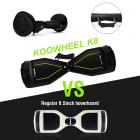 Difference between Koowheel k8 and regular 6.5inch hoverboard