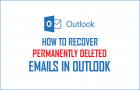 Restoring Deleted Mails in Outlook – Is There An Easy Way Out?