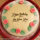 Write Name On Happy Birthday Cake Images